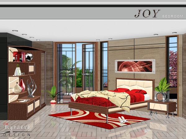 Joy Bedroom by NynaeveDesign