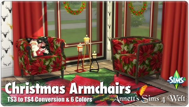 Christmas Armchairs by Annett85