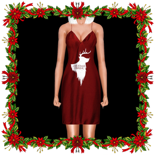 Christmas Is Coming Dress by Ifcasims