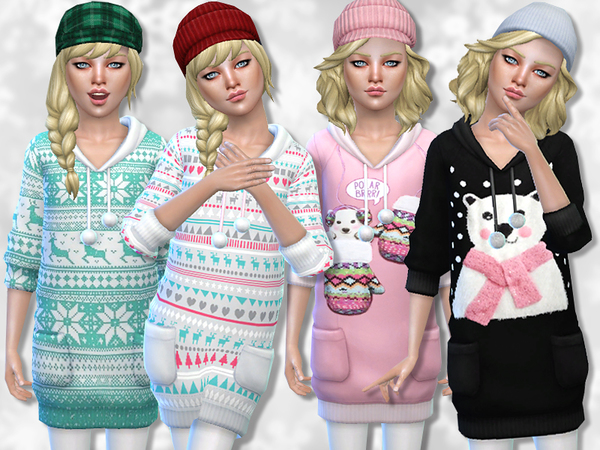 PZC_Winter Charm Sweater Collection by Pinkzombiecupcakes