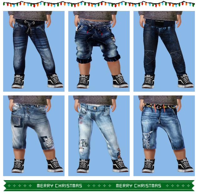 Toddler Jeans Male/Female by Omfgingers