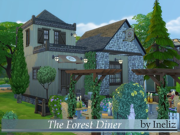 The Forest Diner by Ineliz