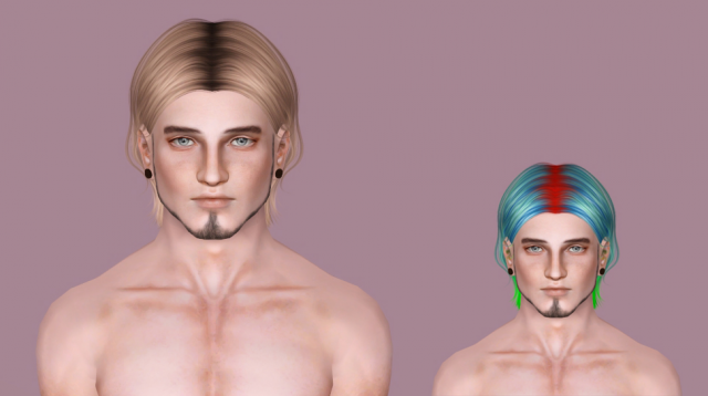 Sintiklia - Freeze for MALE by IfcaSims