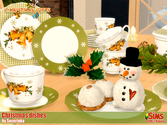 Christmas dishes by Severinka