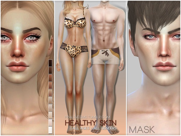 PS Healthy Skin by Pralinesims