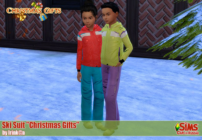 "Ski Suit ""Christmas Gifts"" by Irinkakis"