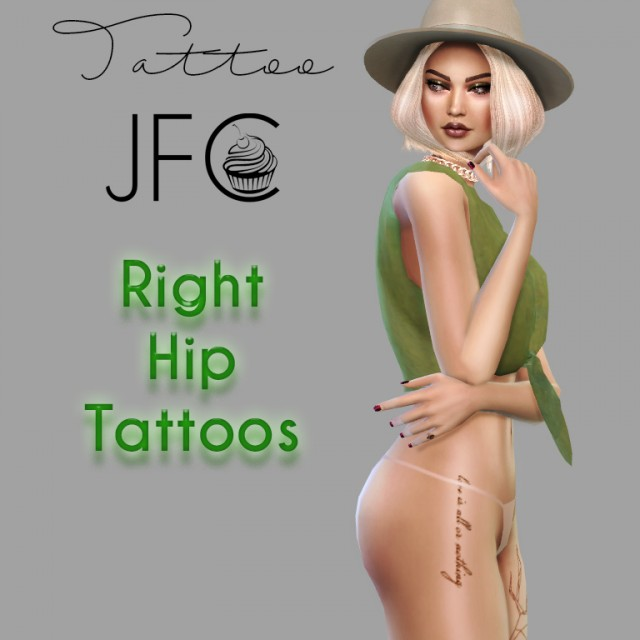 Right Hip Tattoos by jfc-sims