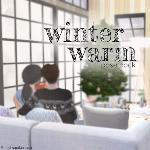 Winter Warm Pose Pack by thesimperiuscurse