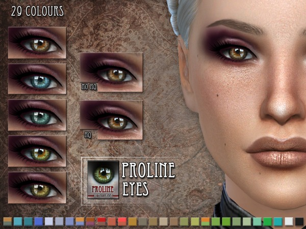 Proline Eyes by RemusSirion