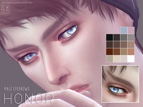 [ Honor ] - Male Brows by Screaming Mustard
