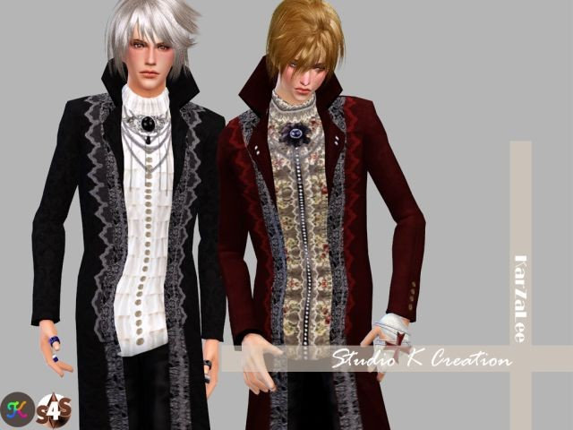 Versailles Chic-Long Coat for male by Karzalee