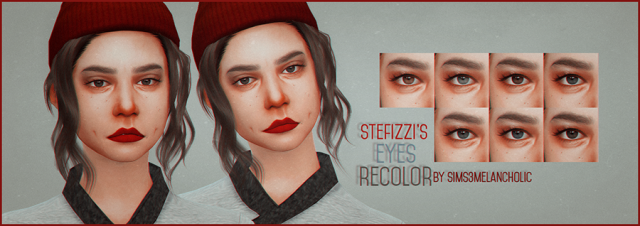 stefizzi's eyes recolor by sims3melancholic