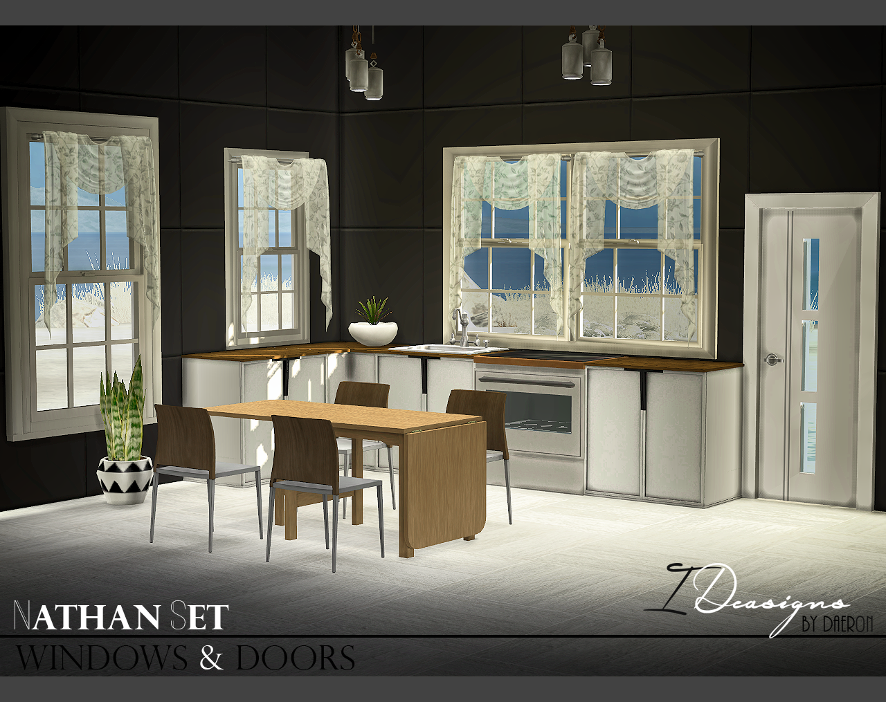 Nathan Windows and Doors Set by Daer0n