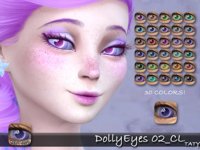 Dolly Eyes 02 by tatygagg