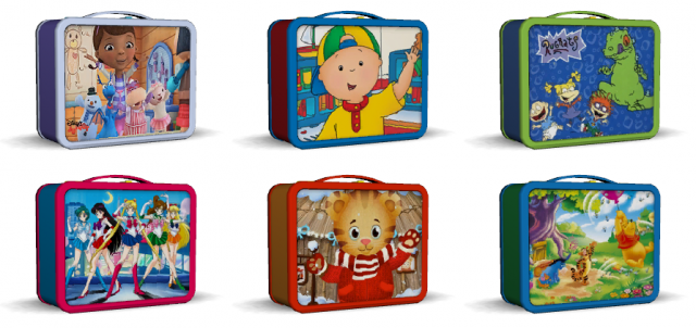 Childrens Lunch Boxes by Omfgingers