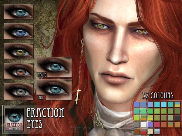 Fraction Eyes by RemusSirion