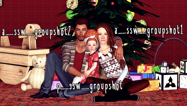 Family Photo Pack by Simsaywhat