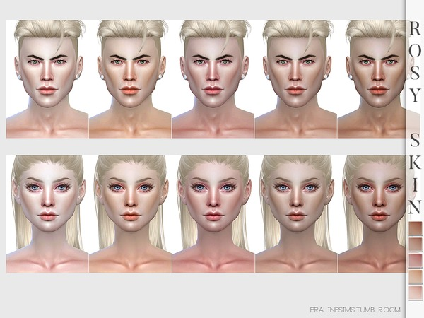PS Rosy Skin by Pralinesims