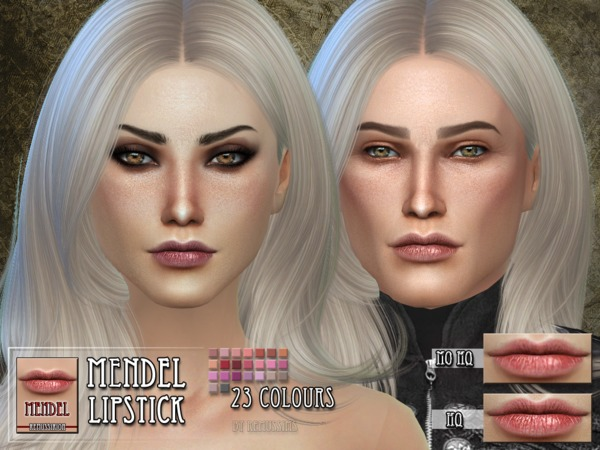 Mendel Lipstick by RemusSirion