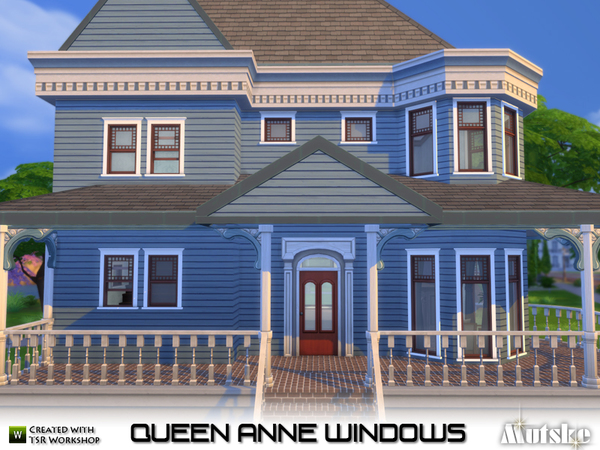 Queen Anne Windows by mutske