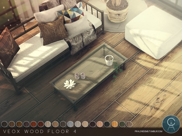 VEOX Wood Floor 4 by Pralinesims