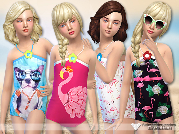 Little Paradise Swimwear Collection by Pinkzombiecupcakes