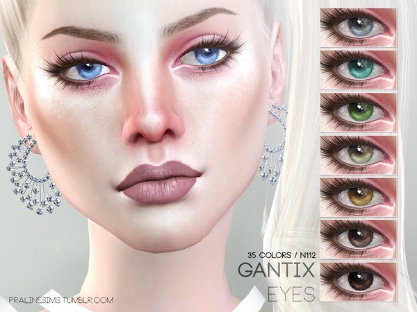 Gantix Eyes N112 by Pralinesims