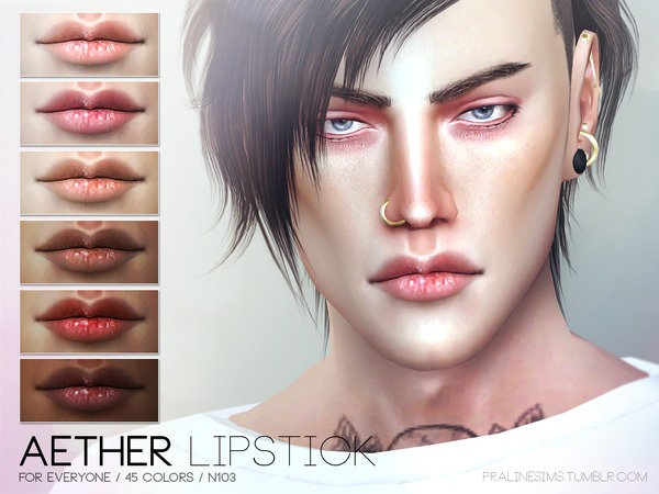 Aether Lipstick N103 by Pralinesims