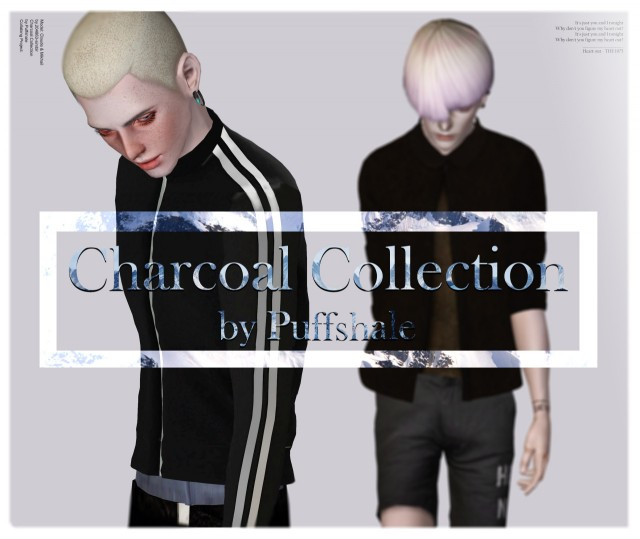 CHARCOAL COLLECTION by puffshale