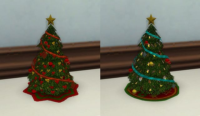 TS2 Small Holiday Tree Sculpture by BigUglyHag
