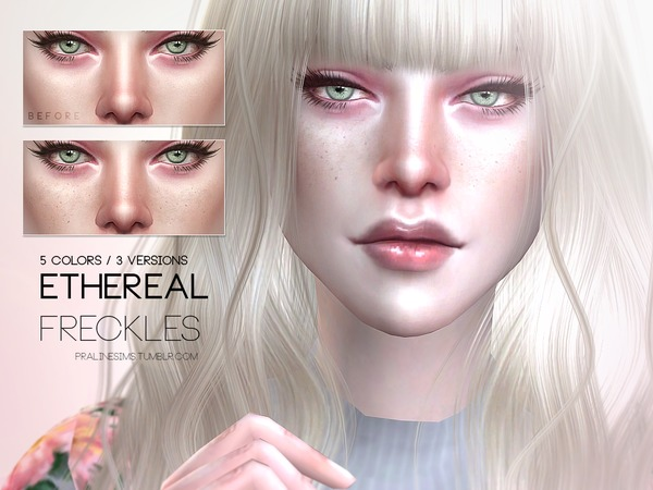 Ethereal Freckles N06 by Pralinesims