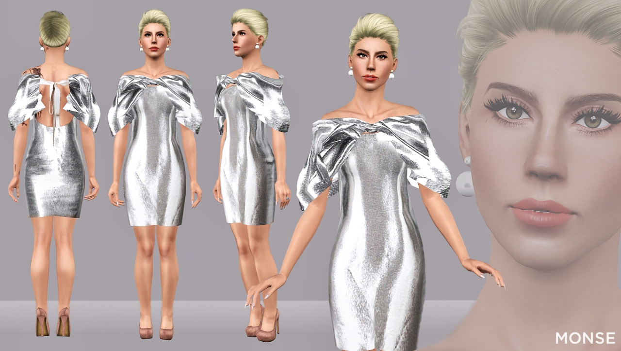 Monse_SS16BubbleSleeveCocktailDress by Artsims
