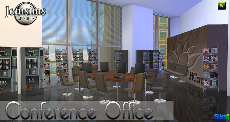 Conference Office Set by JomSims