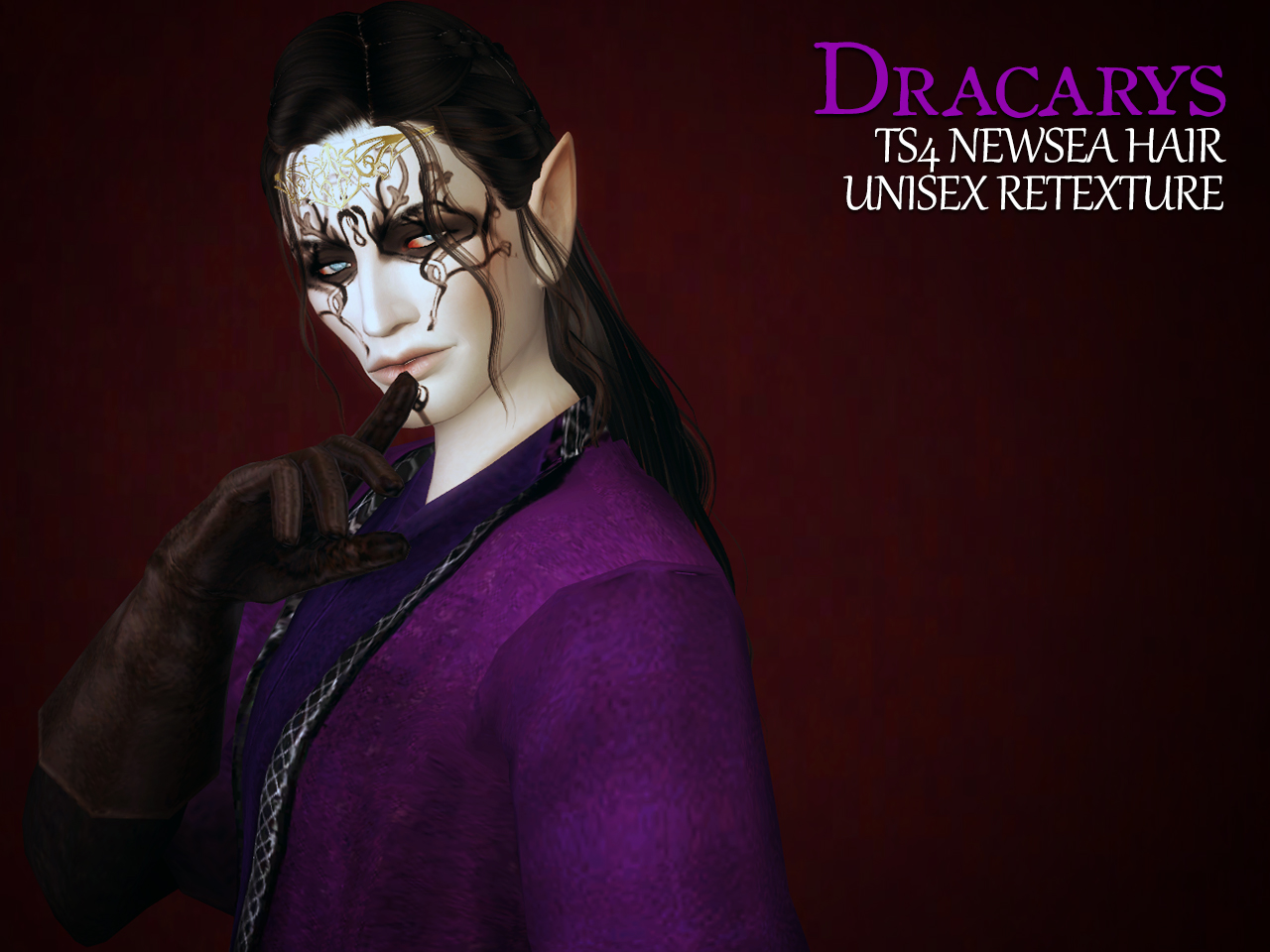 Dracarys Hair Retexture by Astraea Nevermore