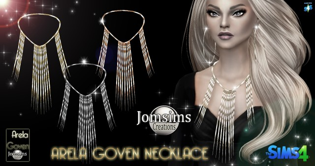 Arela Goven necklace by JomSims