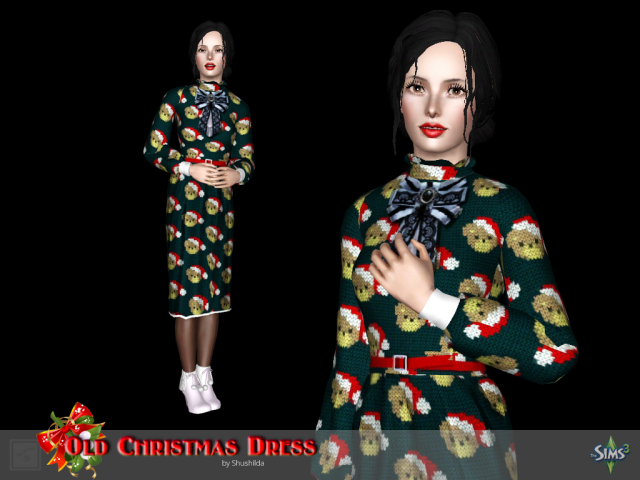 Dress + Hairstyle + Shoes by Shushilda