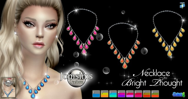 Bright thought necklace by JomSims
