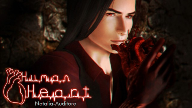 HUMAN HEART ACC by natalia-auditore