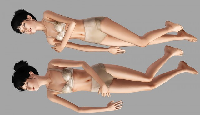 Sleeping Poses for Females by itsoceansecret