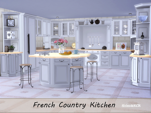 Kitchen French Country by ShinoKCR