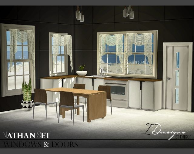 Set Windows and Doors (new meshes) by Daer0n