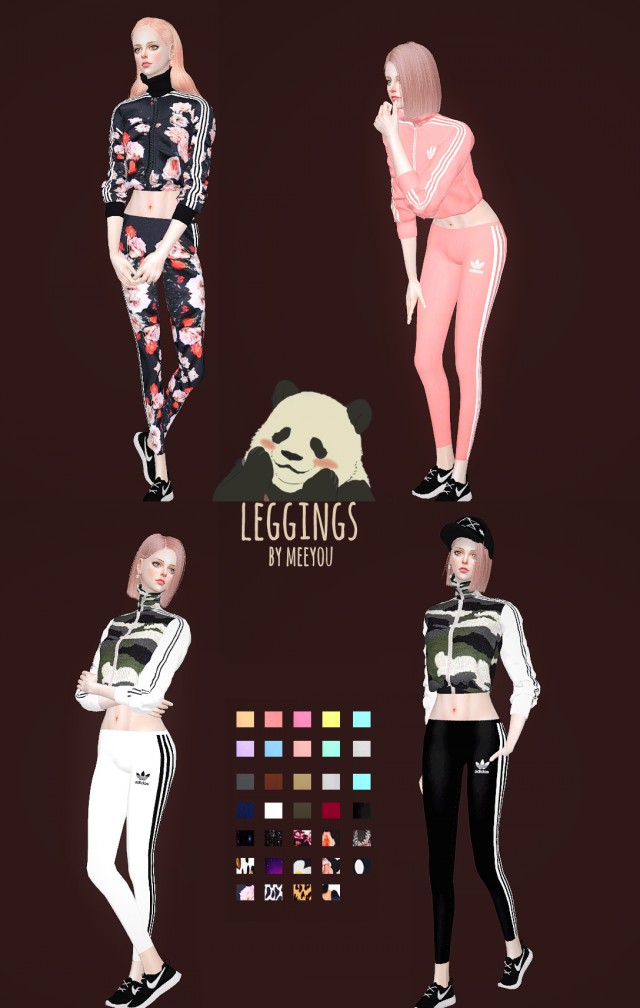 Adidas Leggings by Meeyou_x