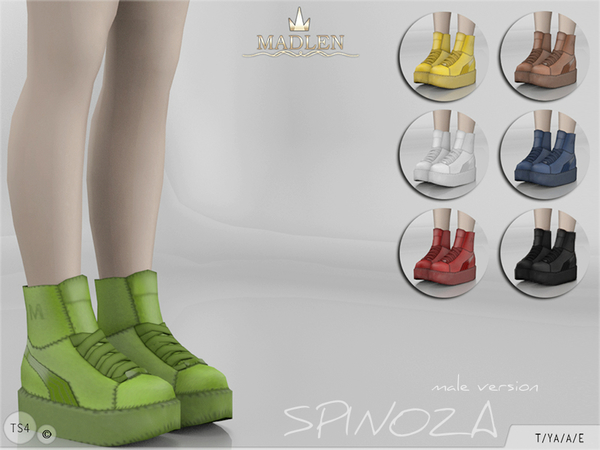 Madlen Spinoza Shoes (MALE) by MJ95