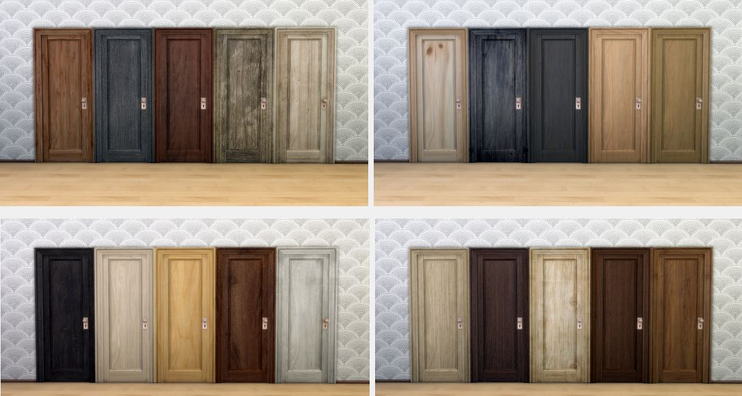 True Wood Doors by AnnArchy
