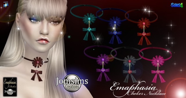 Emaphasia choker by JomSims
