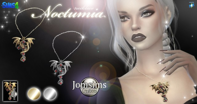 Noctumia necklace by JomSims