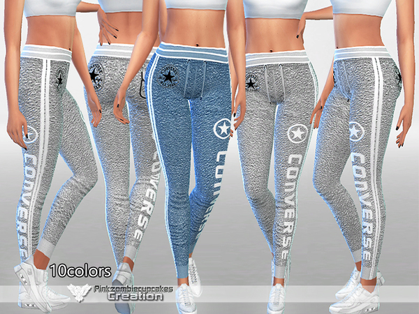 PZC_Athletic Pants 010 by Pinkzombiecupcakes