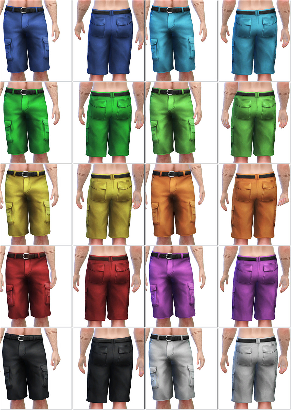 Men's Jeans Shorts by IntenseSims