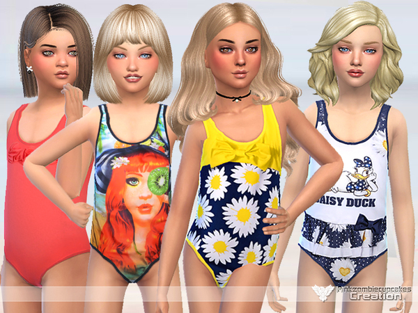 Miss Daisy Swimwear Collection by Pinkzombiecupcakes