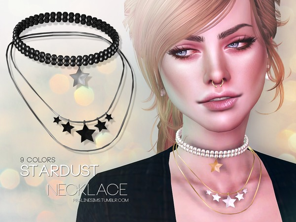 Stardust Necklace by Pralinesims